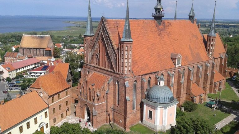 Frombork miasto Mikołaja Kopernika